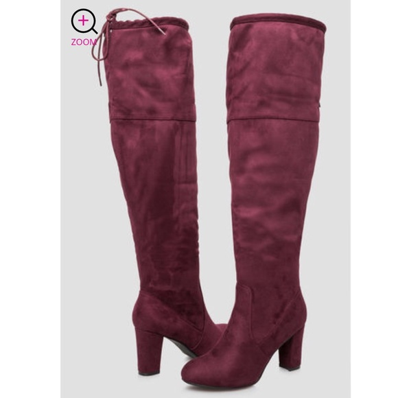 aaa82f067aba Over The Knee Wide Width Calf Boots. NWT. Ashley Stewart